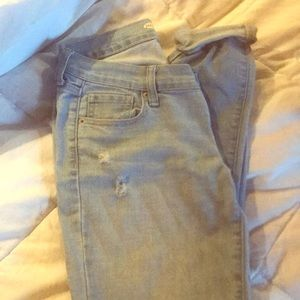 Old navy denim size 2 regular skinny distressed
